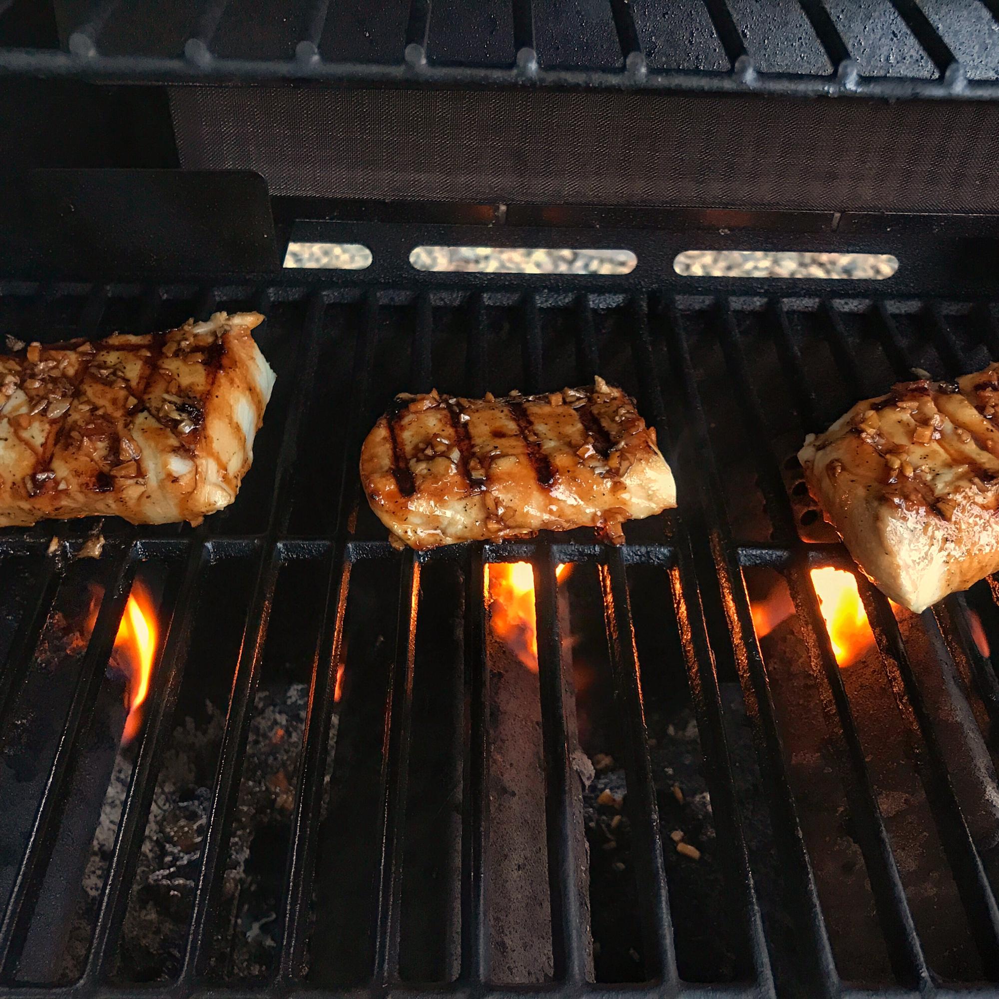 Barbeque Halibut Steaks homeranger