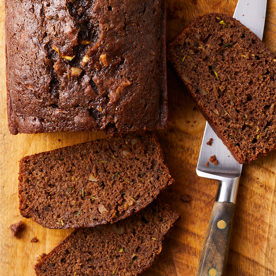 Chocolate Zucchini Bread EatingWell Test Kitchen