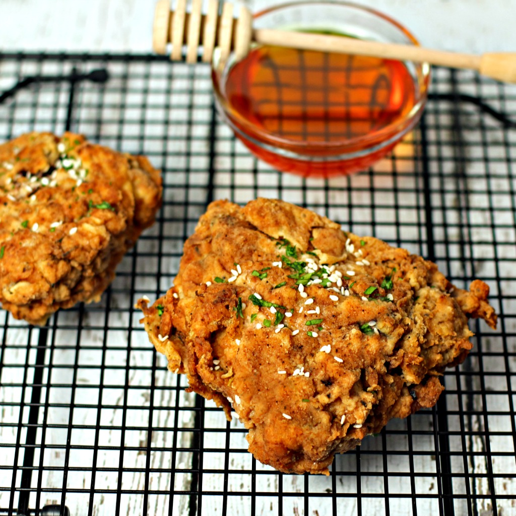 Juicy Honey Fried Chicken Culinary Envy