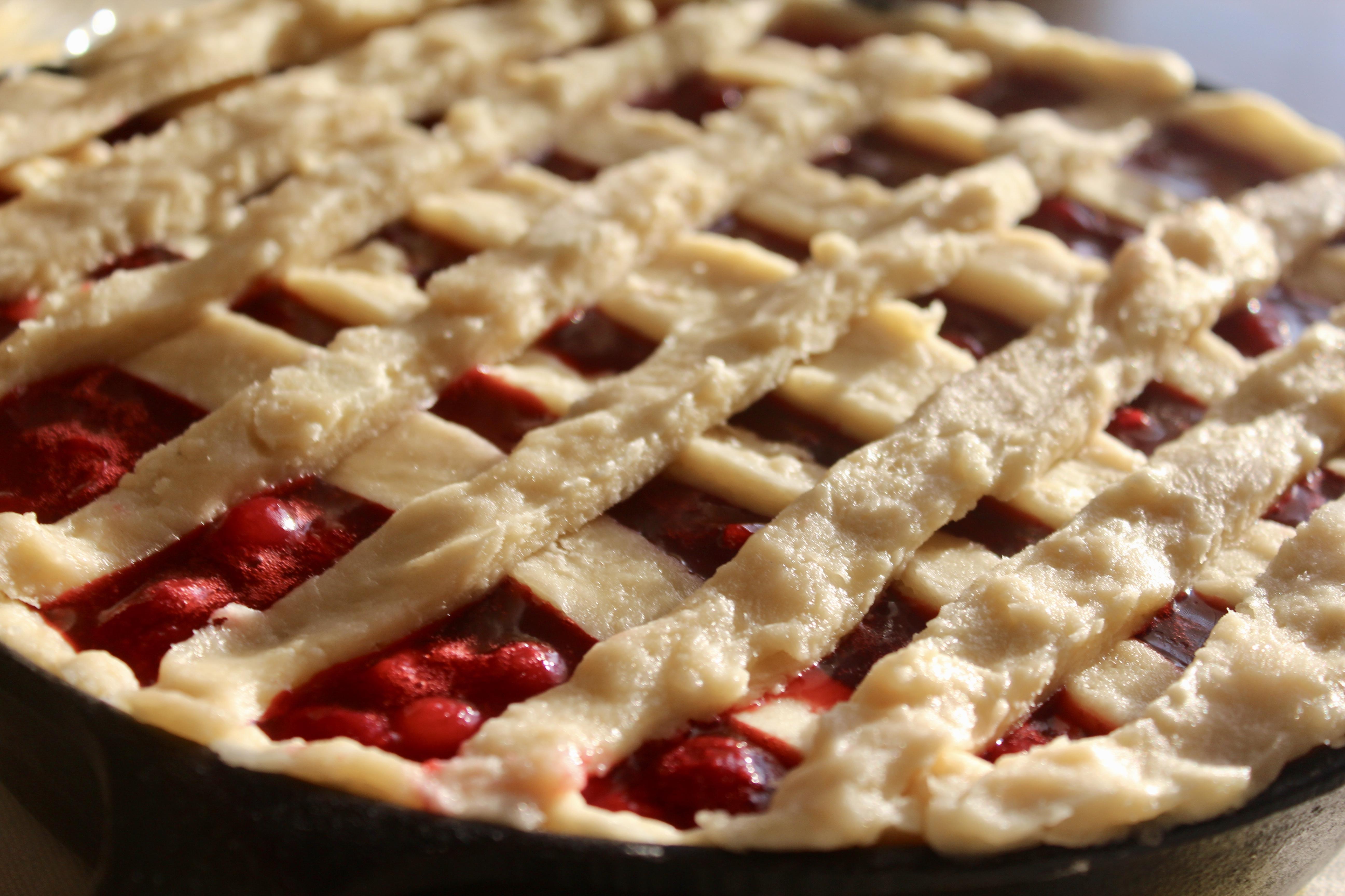 Sour Cherry Pie Amanda the Britt