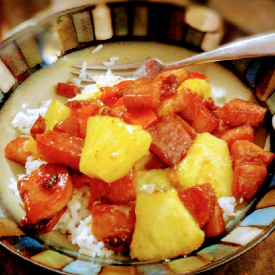 Hawaiian Pineapple Sweet & Sour Smoked Sausage Leisa Domotor