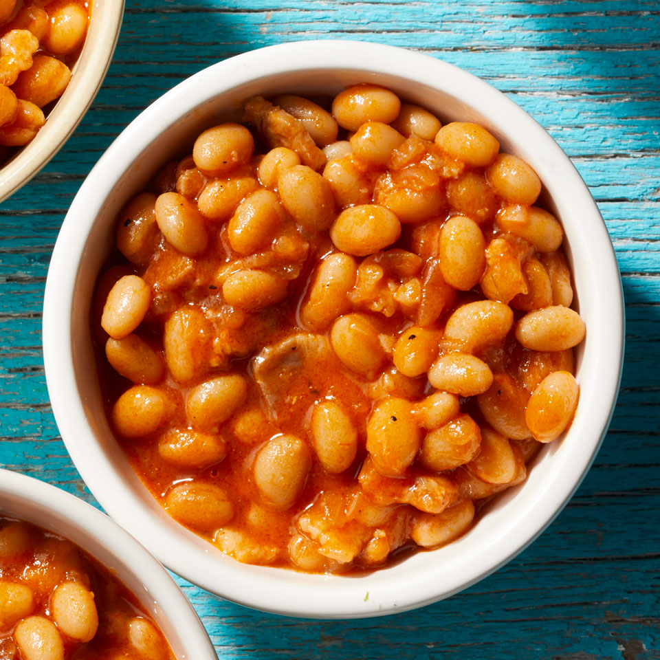 Curried Baked Beans Carolyn Malcoun