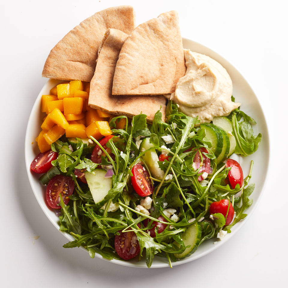 Hummus & Greek Salad Breana Killeen