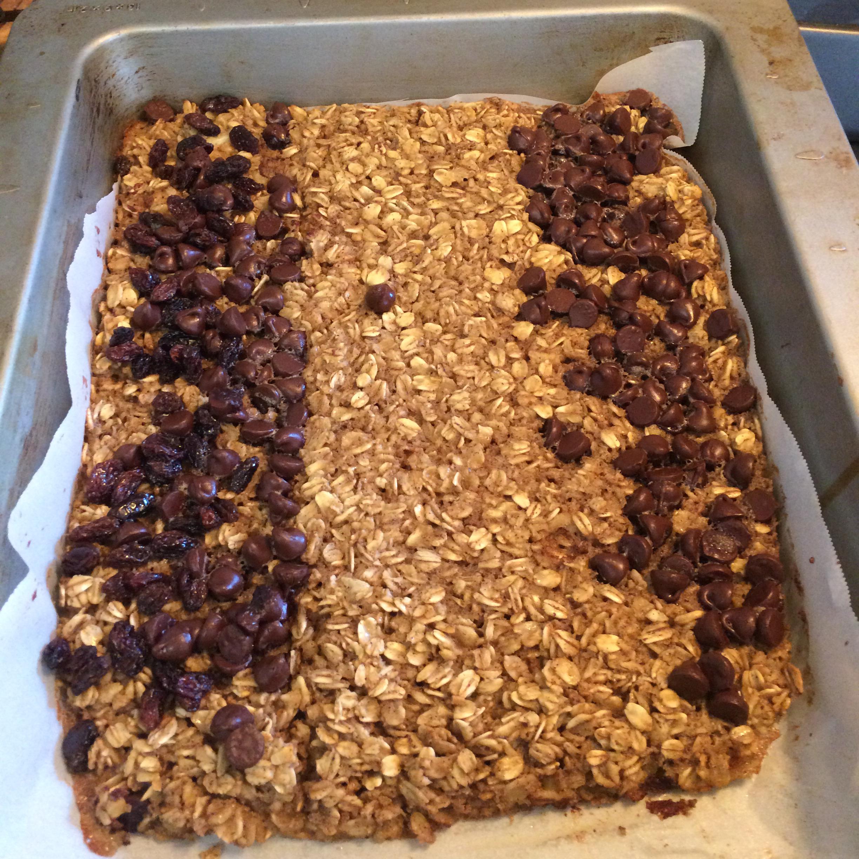 Baked Oatmeal Breakfast Bars A.Cruz