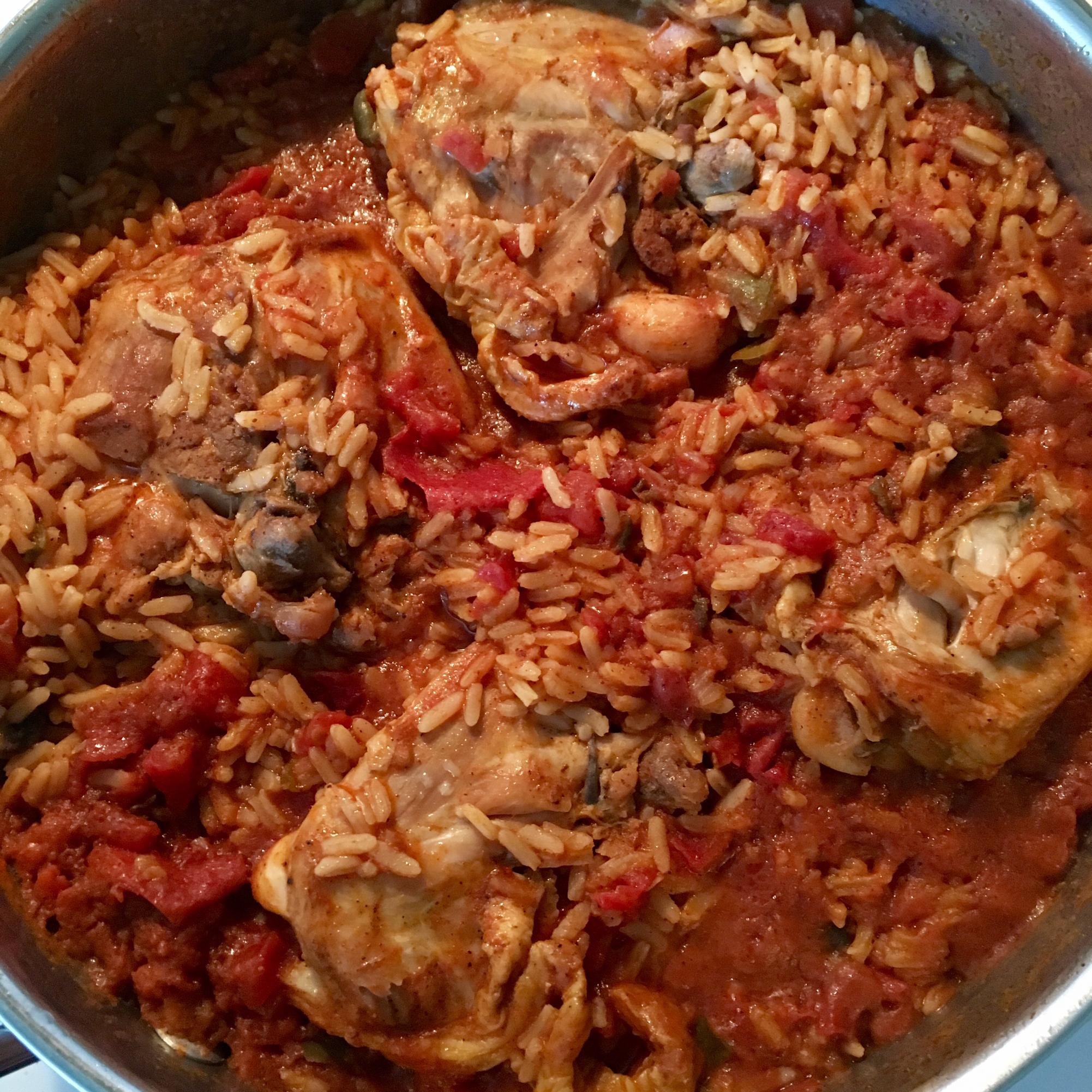 Creole Chicken Recipe Pgem Sassy