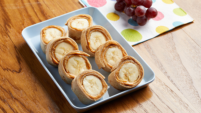 Peanut Butter-Banana Roll-Ups Trusted Brands