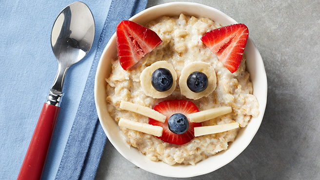 Kitty-Cat Oatmeal Bowl Trusted Brands