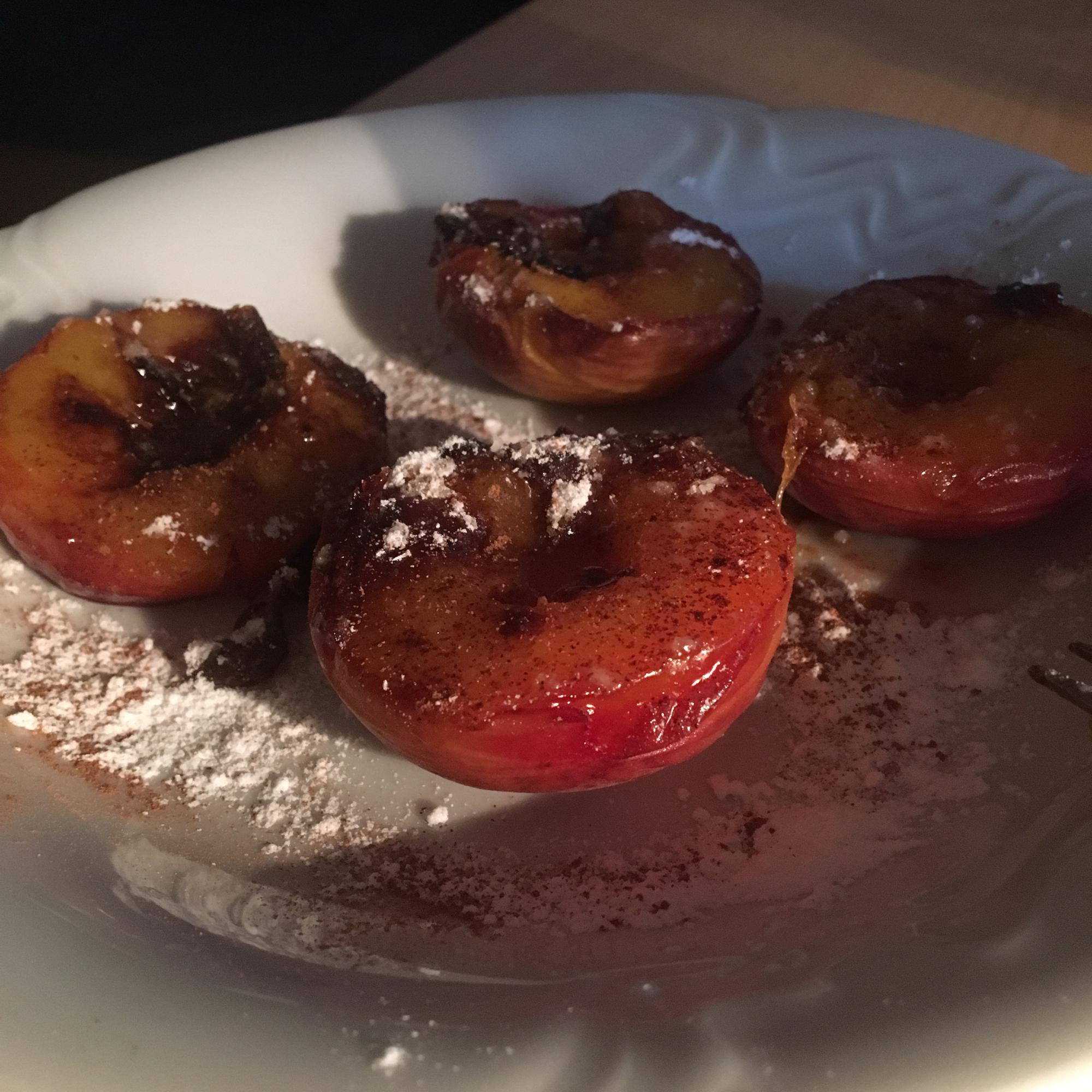 Baked Peaches 'n Cream