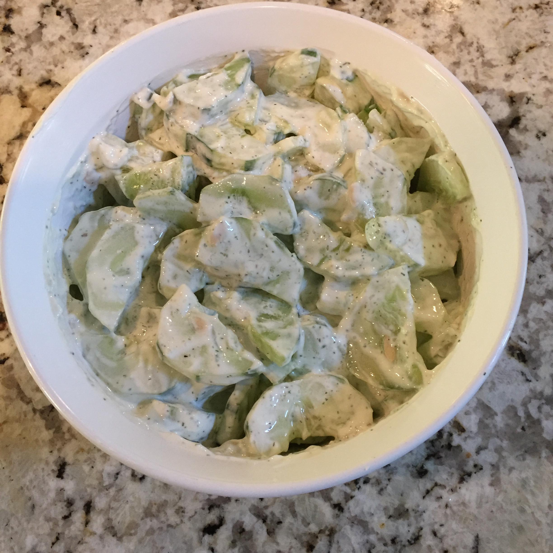 Cucumber Salad Rene Osuna