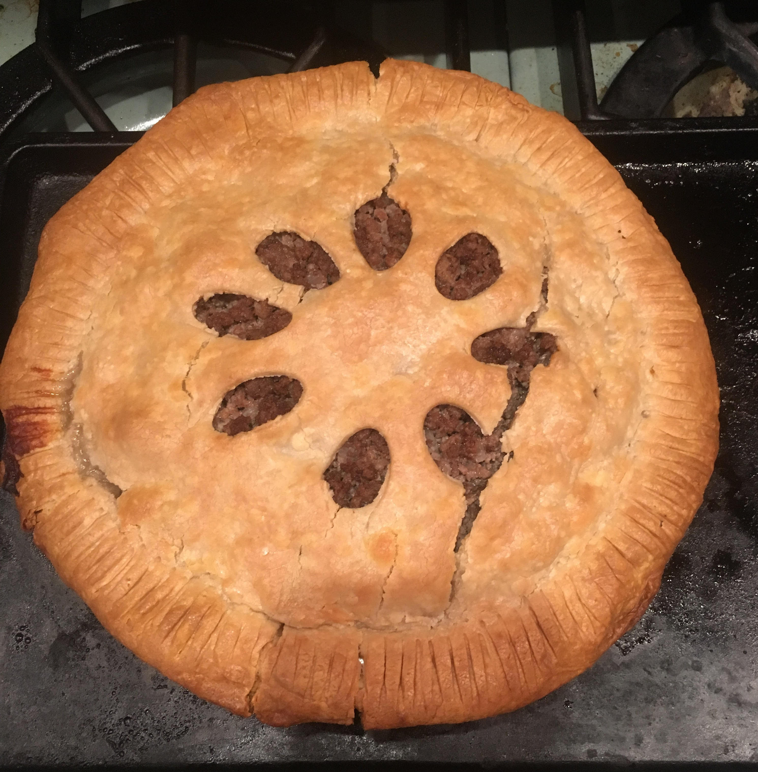 Traditional French Canadian Tourtiere Elandri