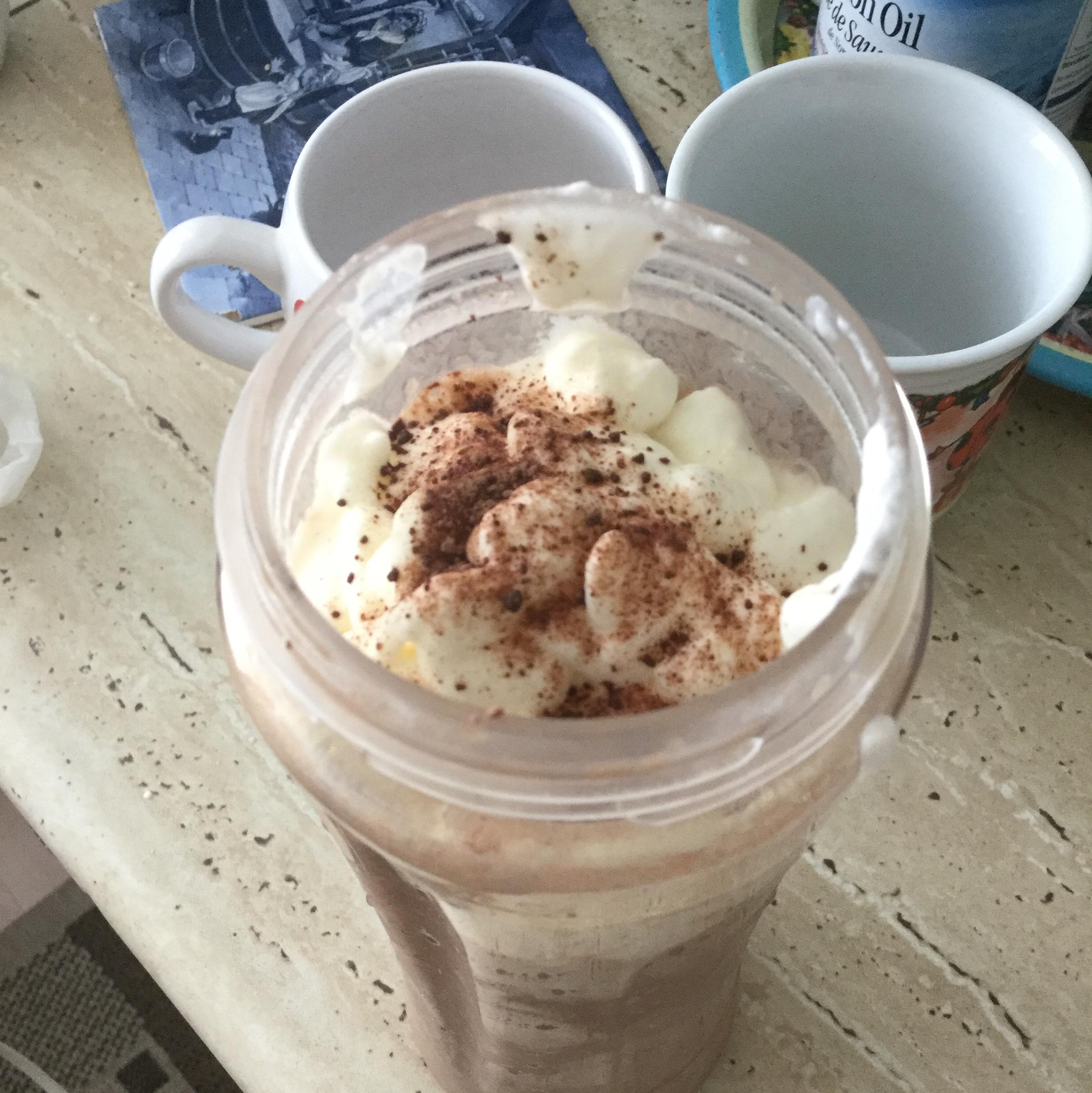 Chocolate Banana Milkshake Piper