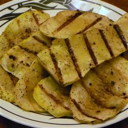 Grilled Yellow Squash MAMALEIGH
