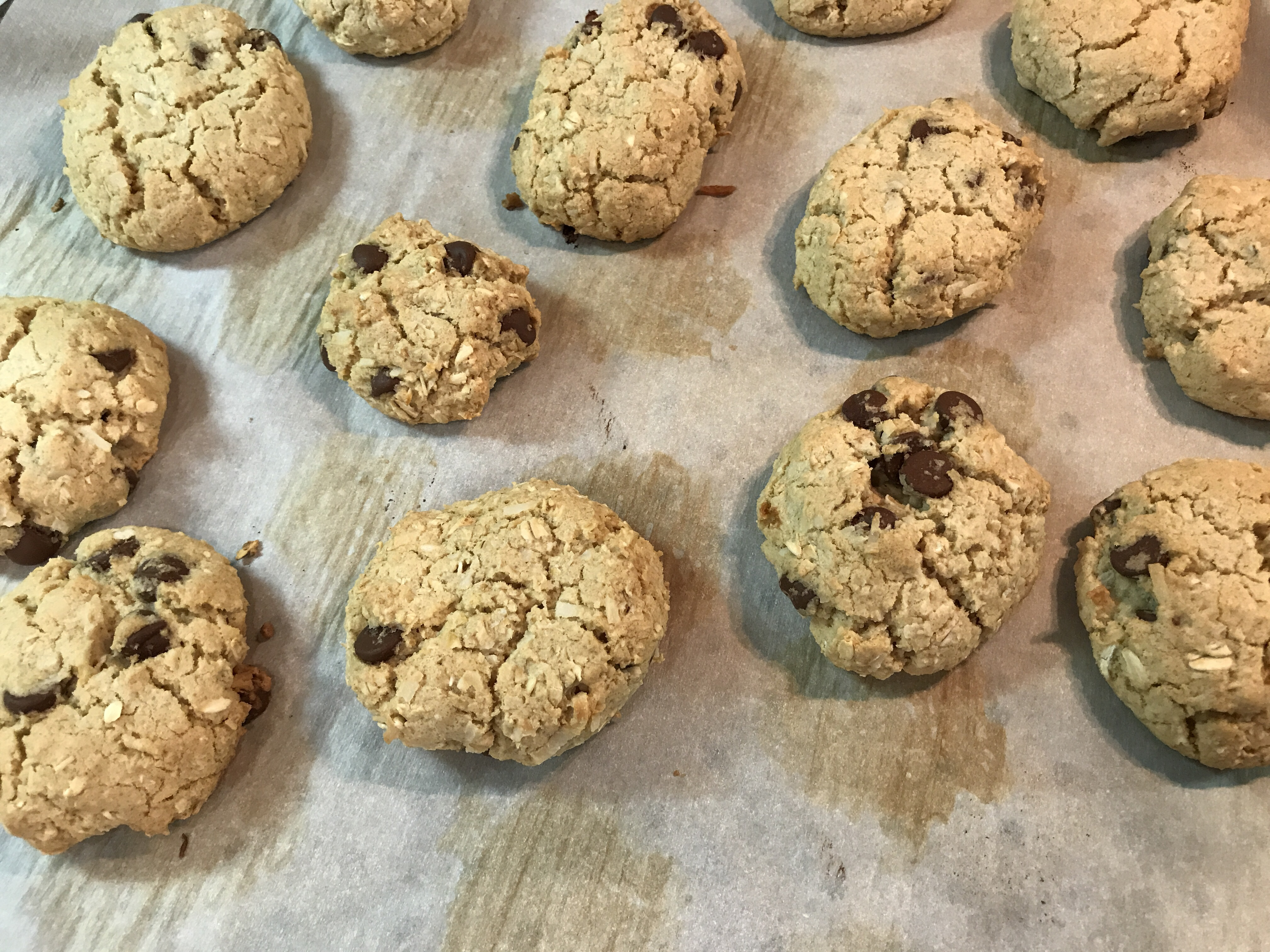 Crisp Oatmeal Cookies Glau