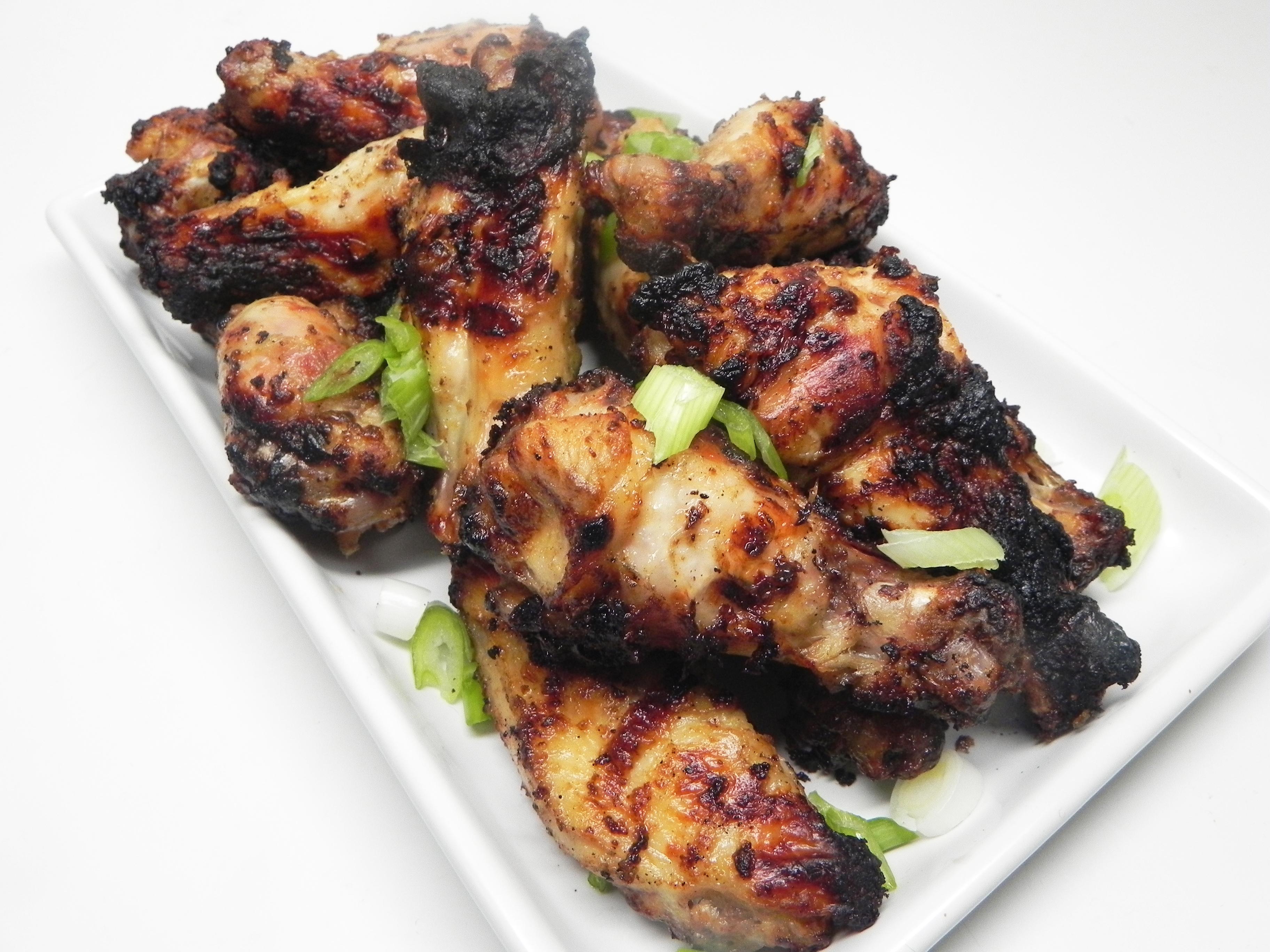 Caesar Grilled Chicken Wings