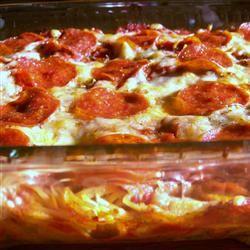Spaghetti Pizza I