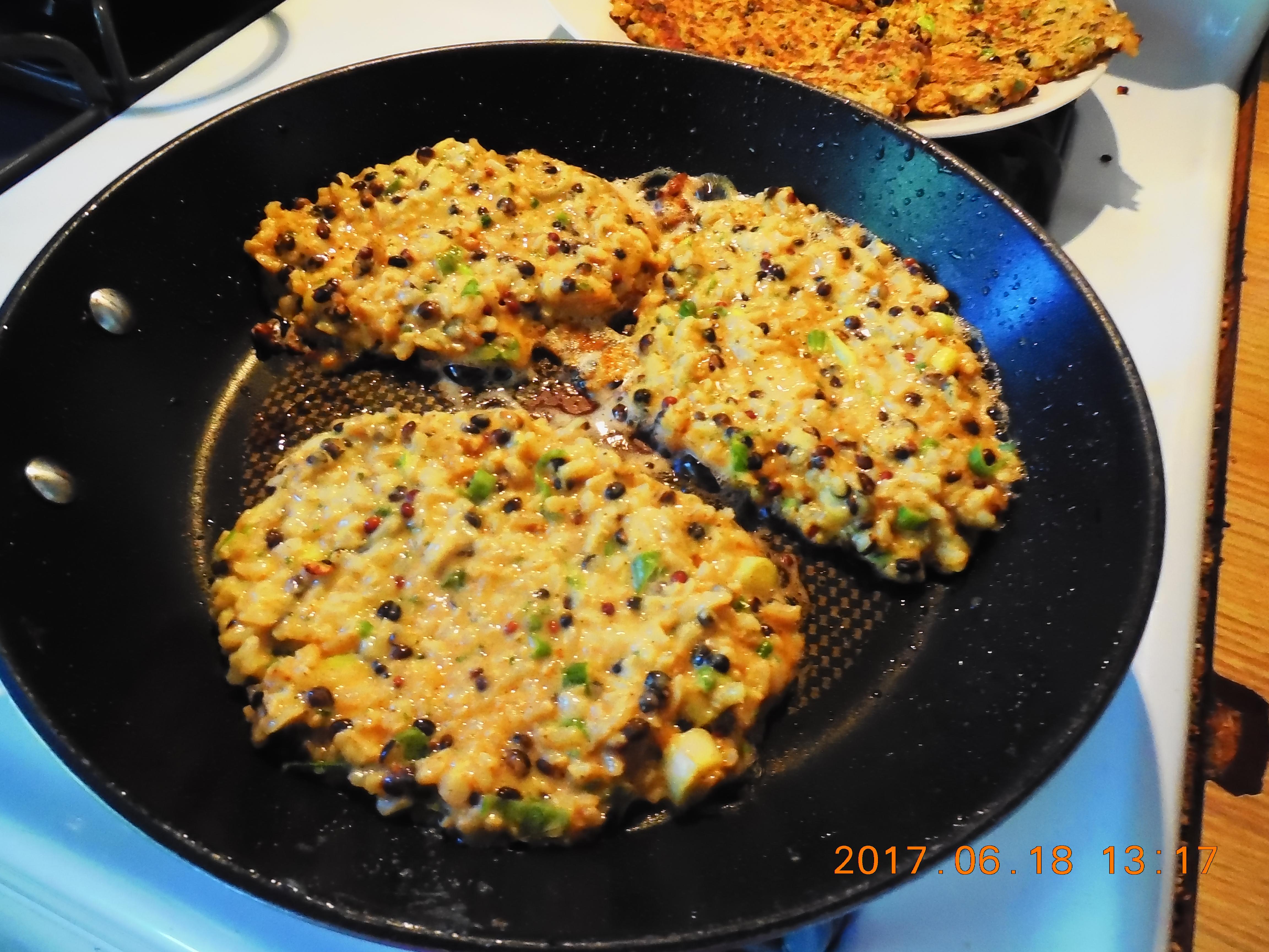 Wild Rice Patties