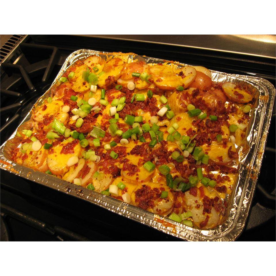 Grilled Garlic Potatoes MILLIESMOM