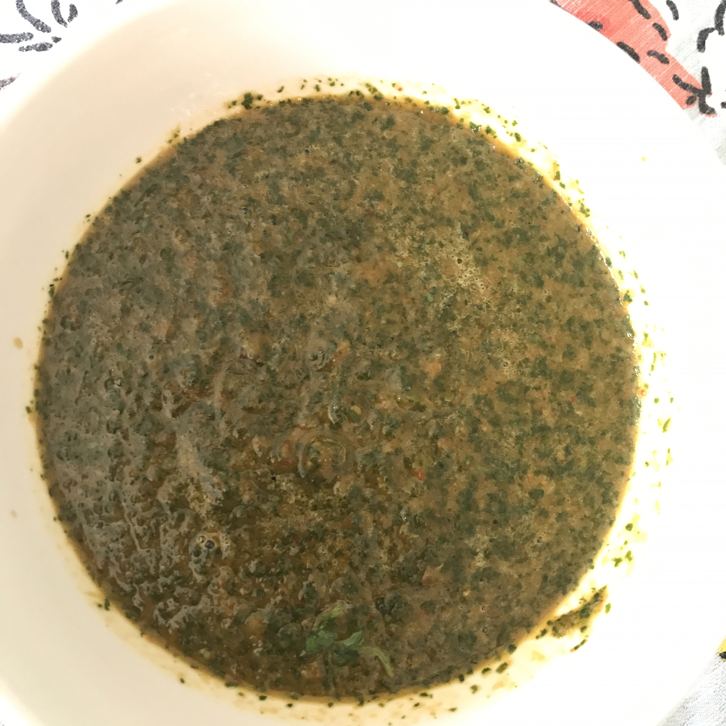 Cilantro-Chili Pepper Sauce