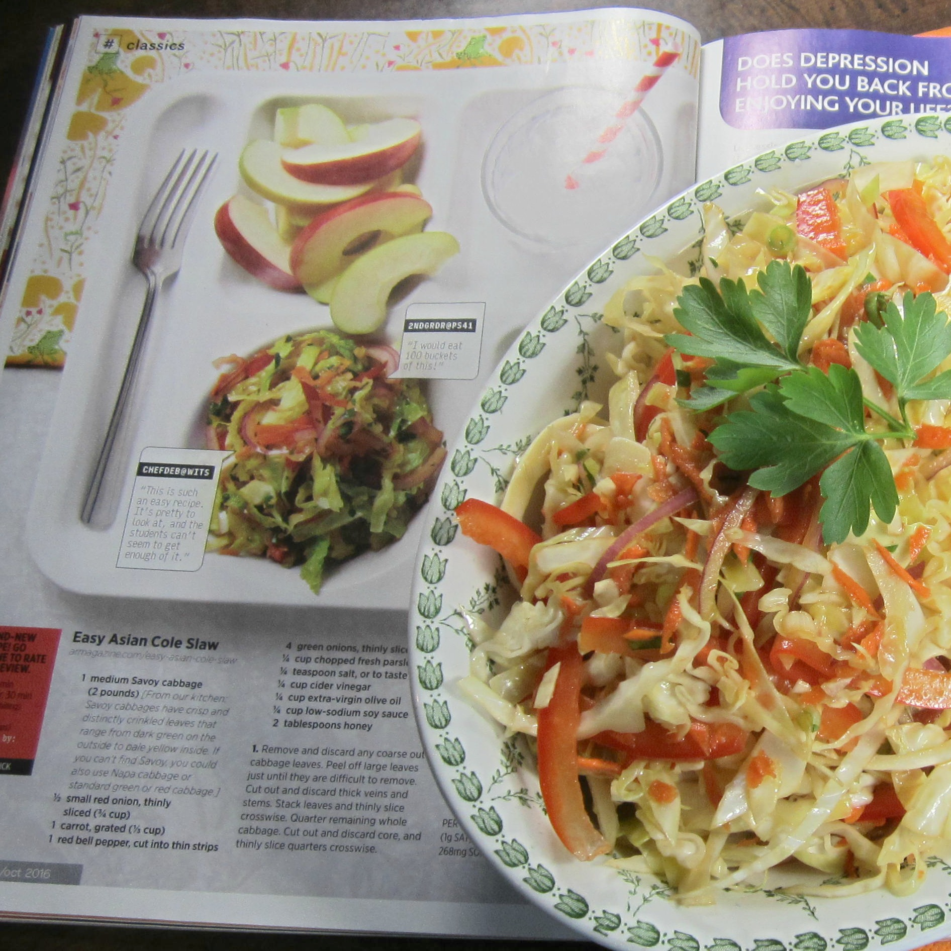 Easy Asian Cole Slaw Deb C