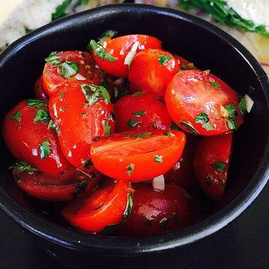 Marinated Cherry Tomato Salad Allrecipes