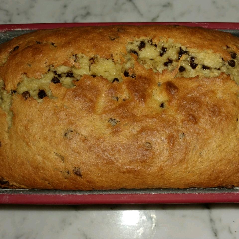 Gluten-Free Moist Choc Chip Banana Bread