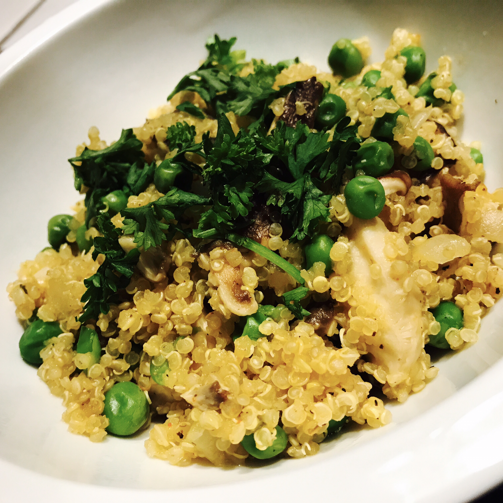 Quinoa with Peas sanatorad