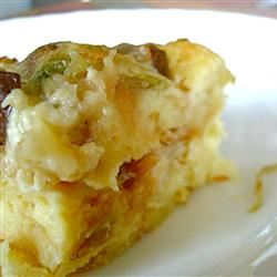 Savory Bread Pudding with Mushrooms and Leeks muttoneer