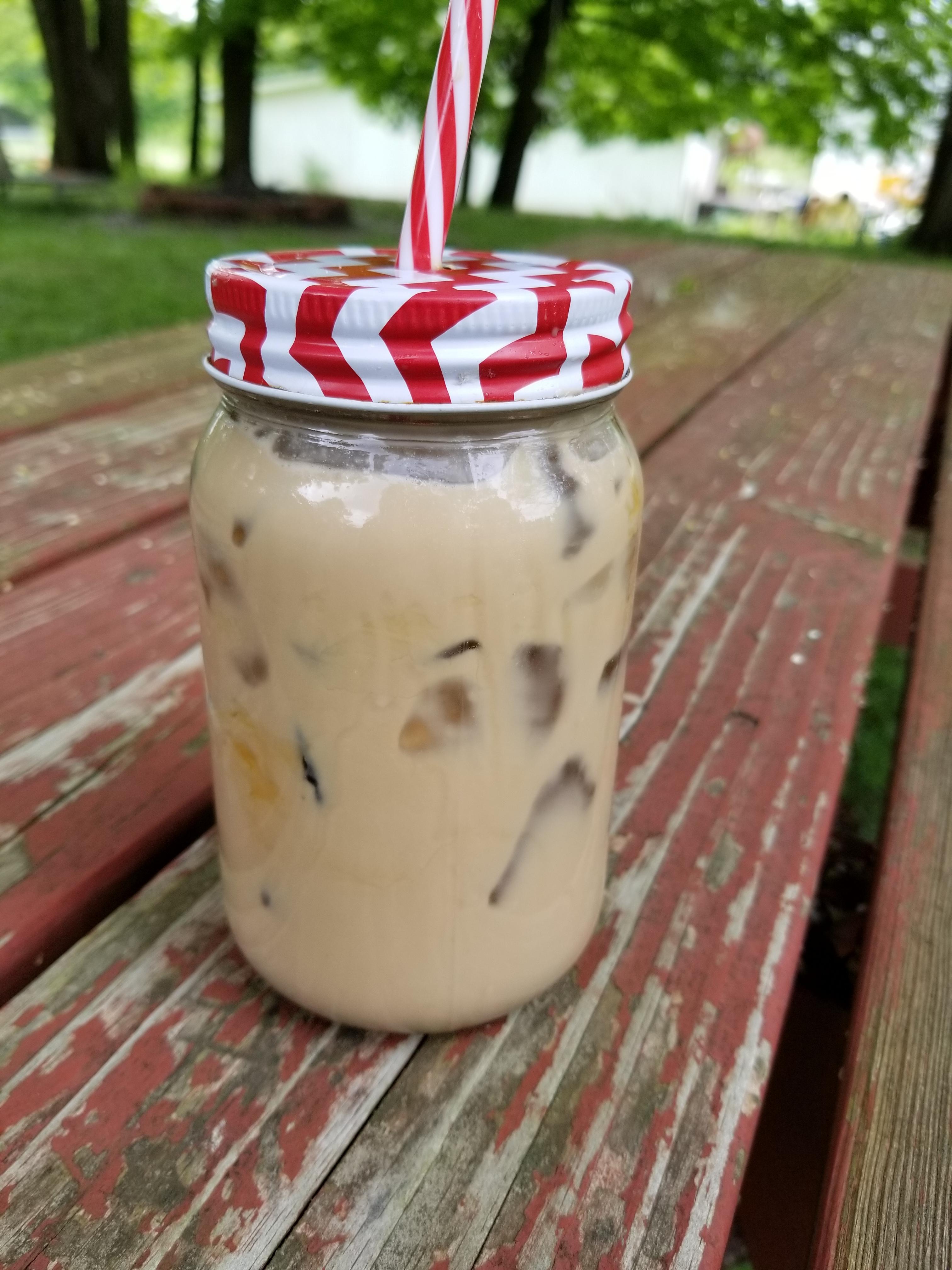 Caramel-Coconut Iced Coffee