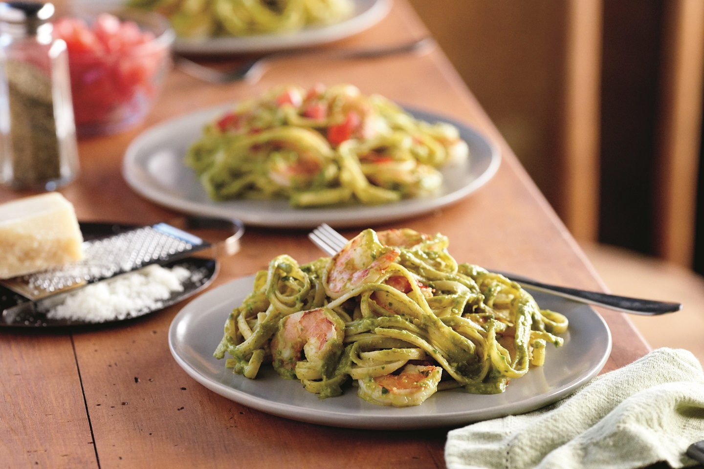Sweet Pea Pesto Pasta