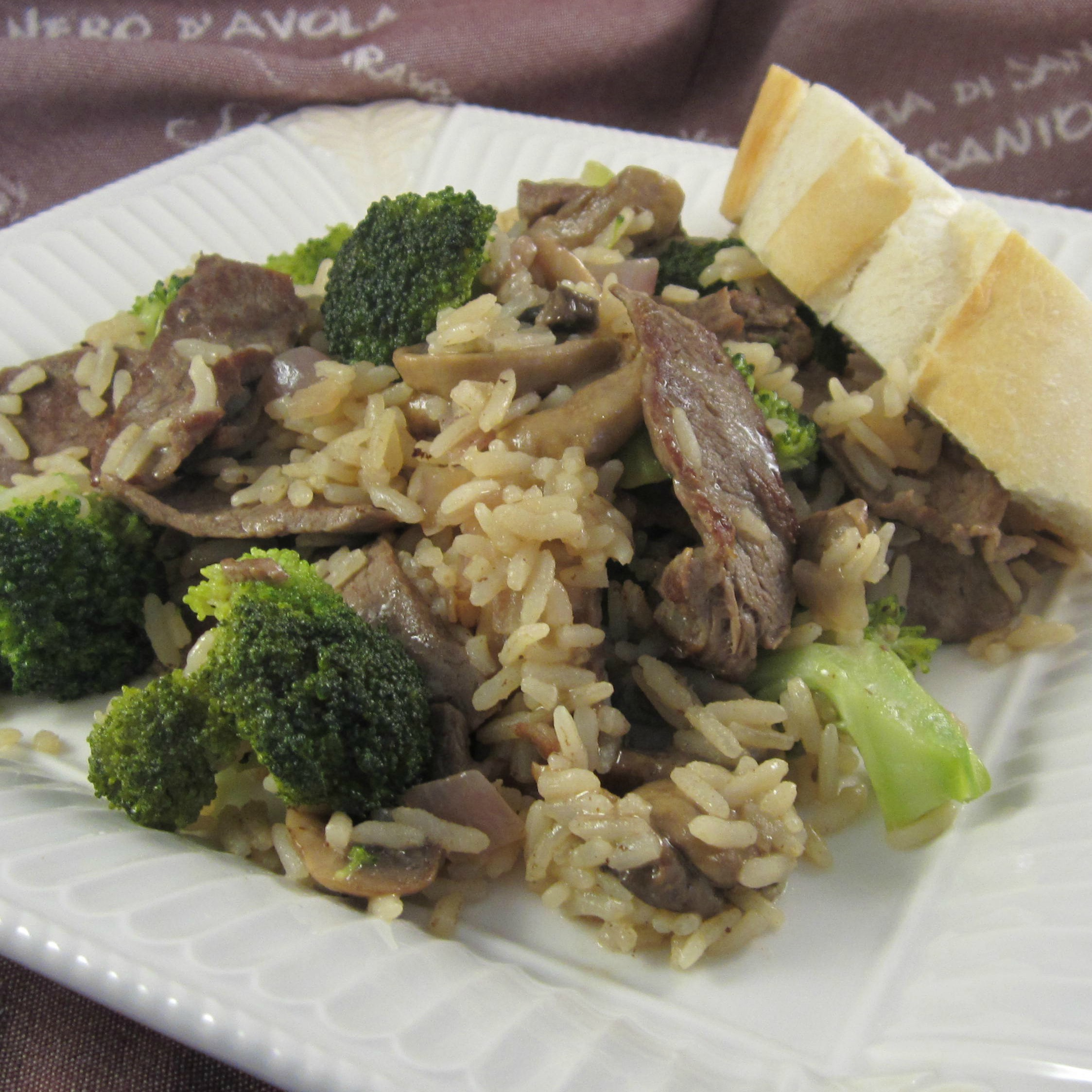 Savory Beef & Broccoli Rice Deb C
