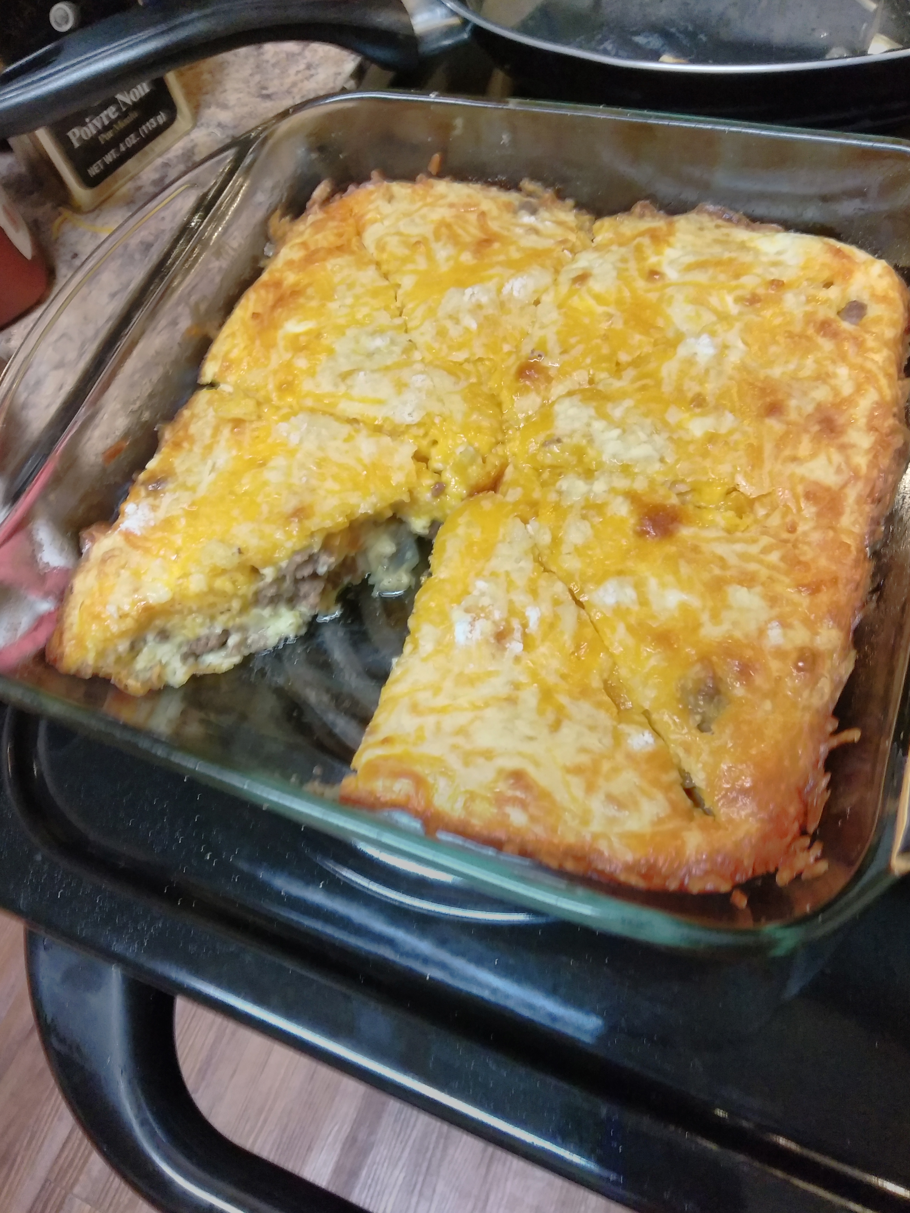 Gluten-Free Impossibly Easy Cheeseburger Pie Crystal Miller