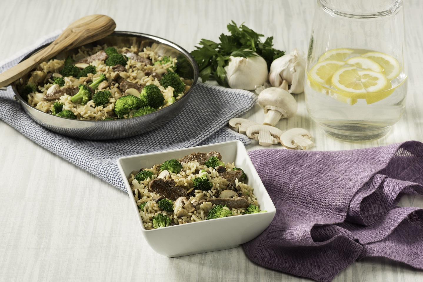 Savory Beef & Broccoli Rice