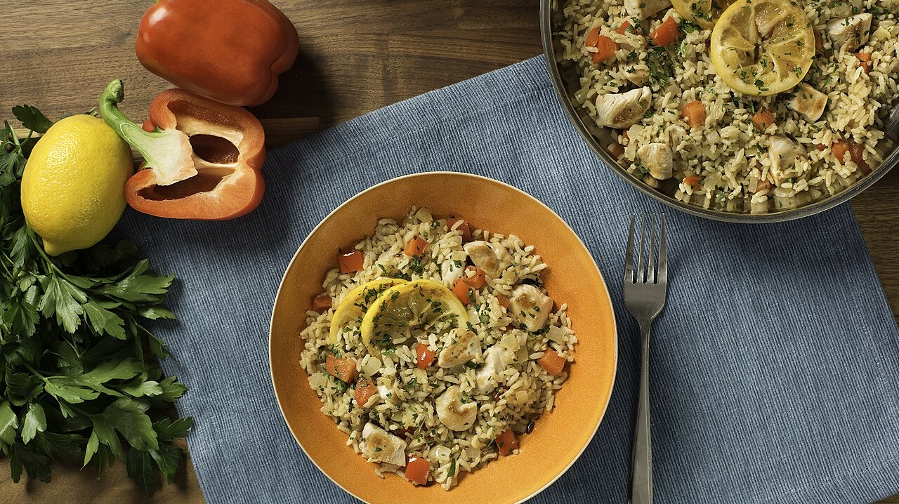 Zesty Chicken & Rice