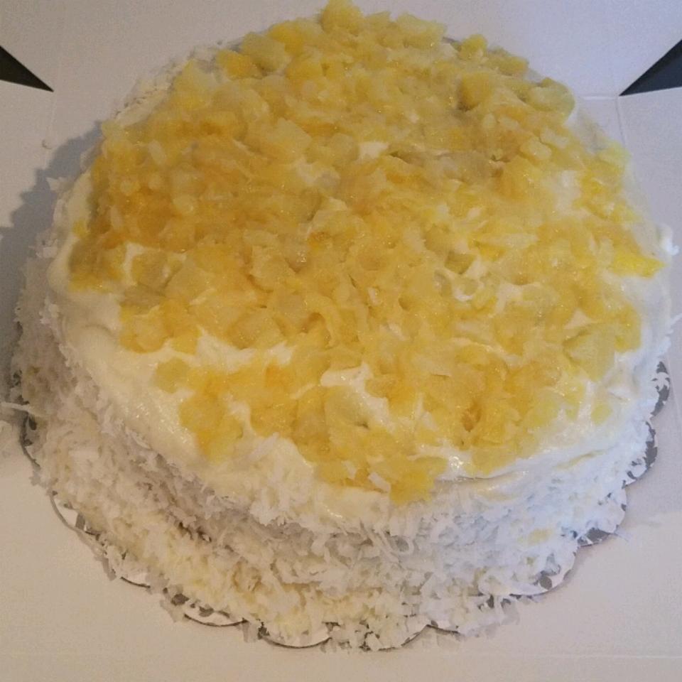 Pineapple Coconut Cake Denise Clarke