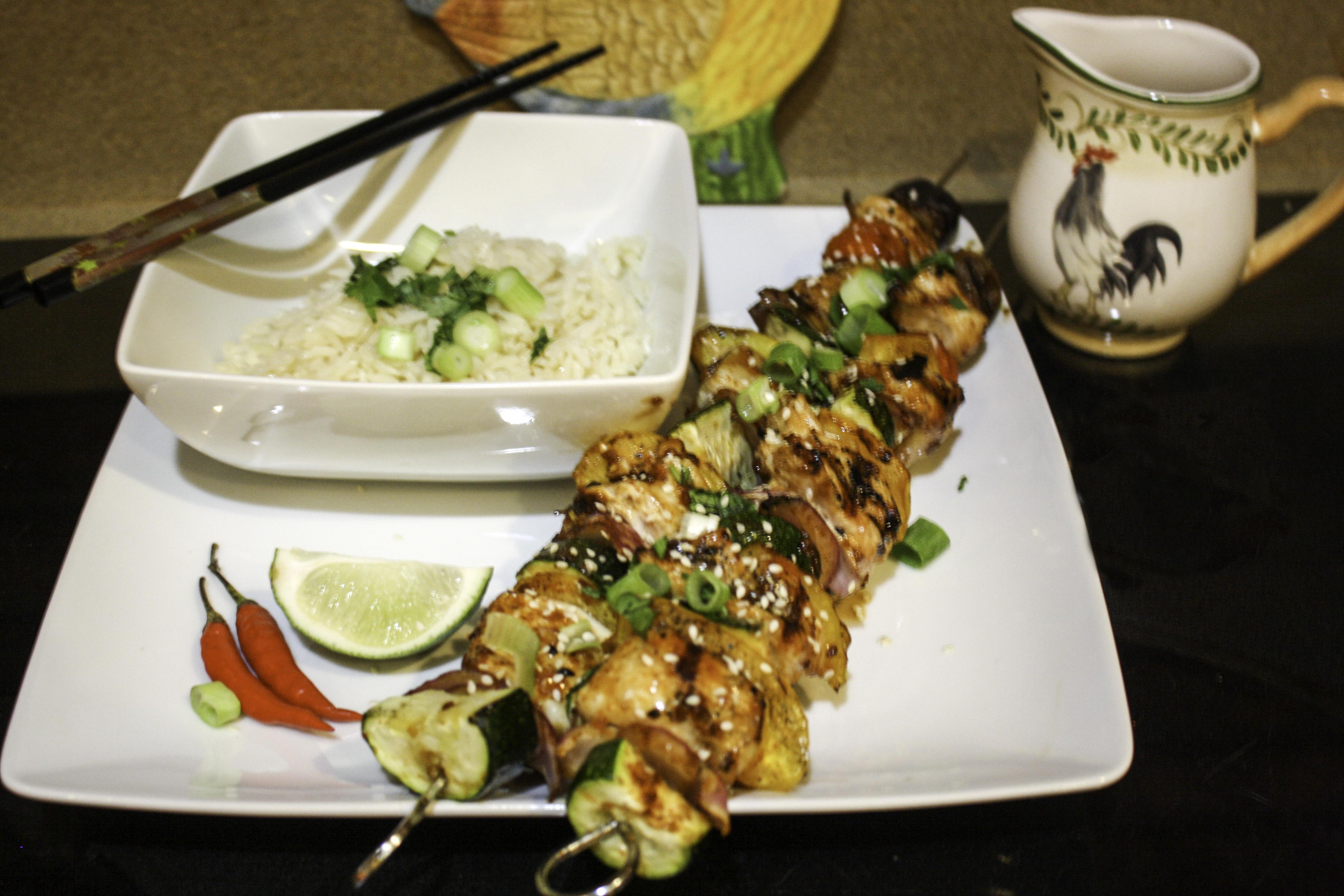 Grilled Chicken Kabobs Janet Henderson