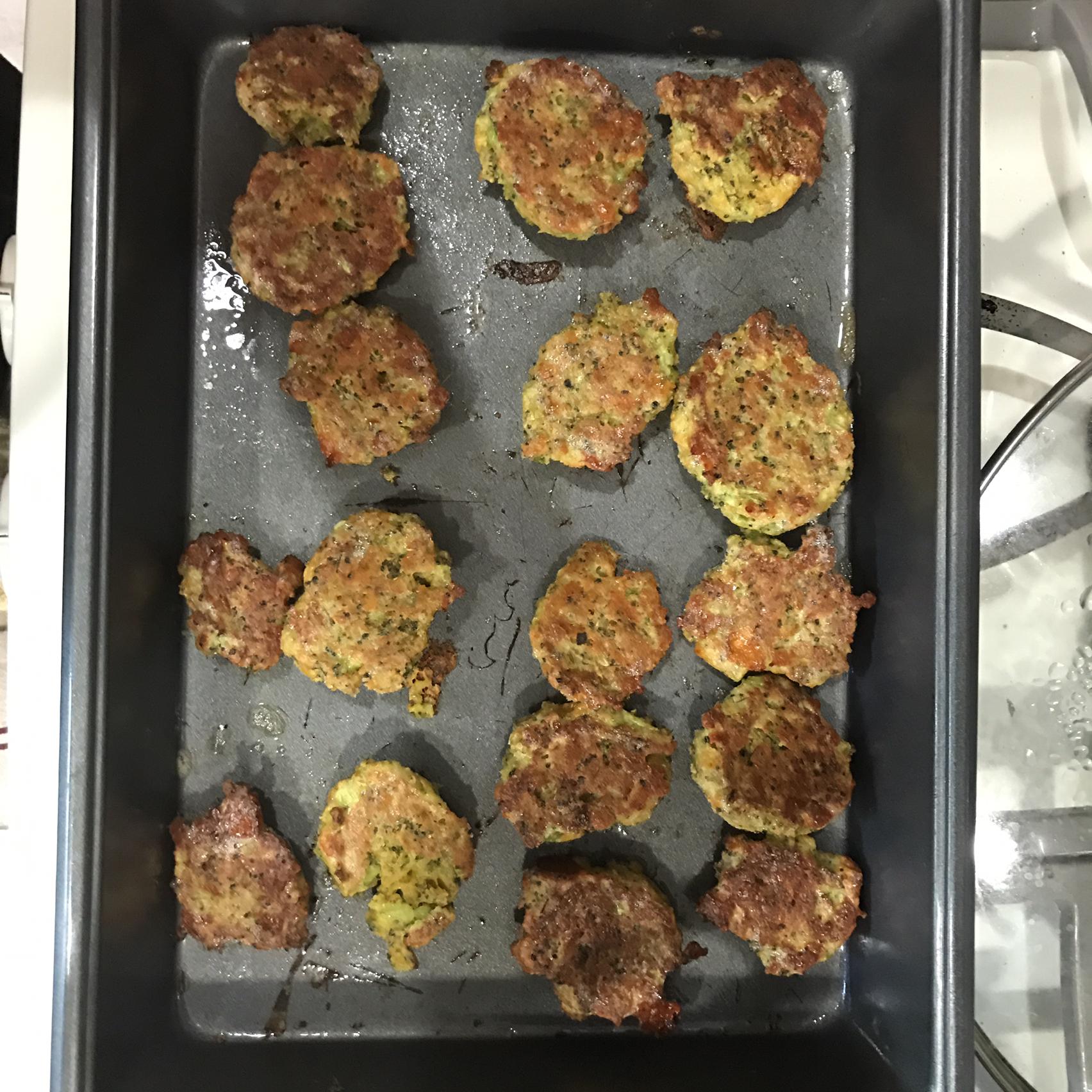 Broccoli and Cheddar Nuggets