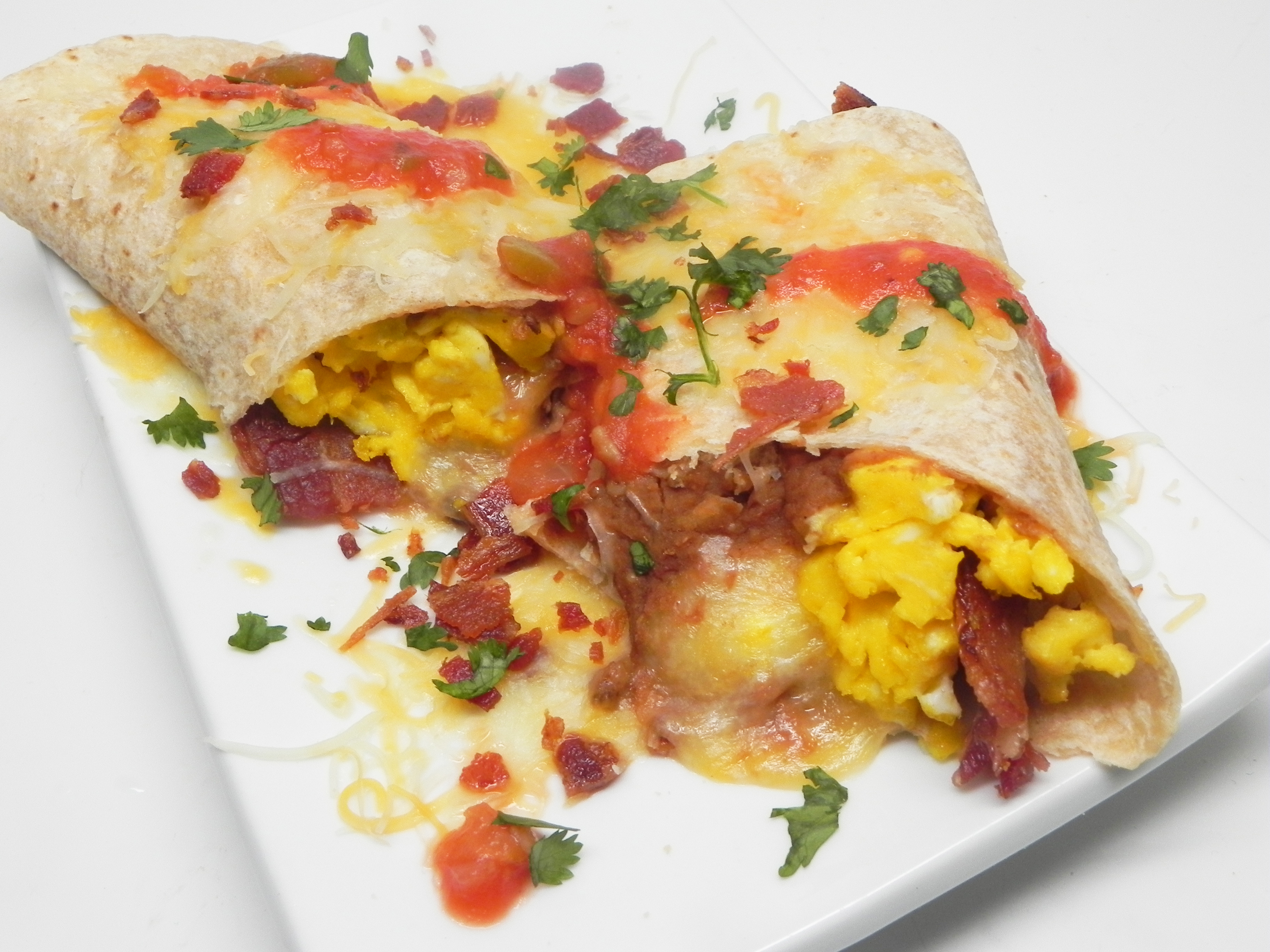 Breakfast Burritos for Two