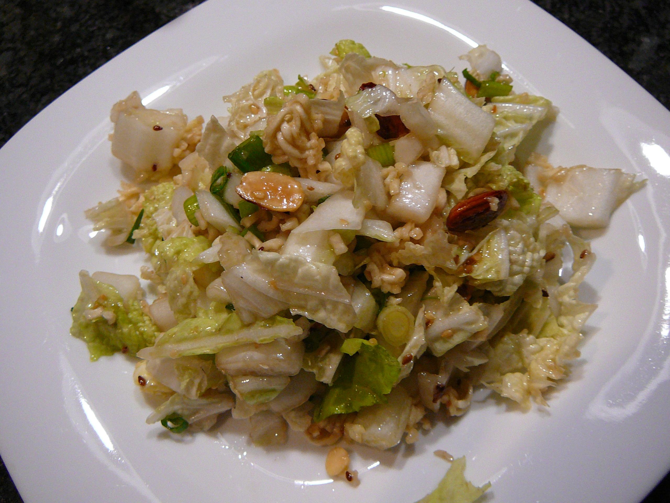 Napa Cabbage Noodle Salad Carolyn