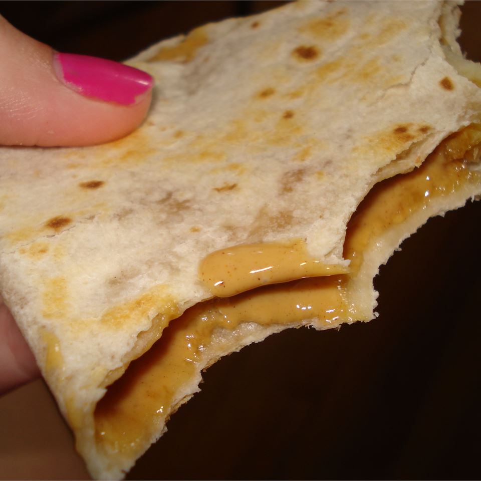 Peanut Butter Fiend Quesadillas