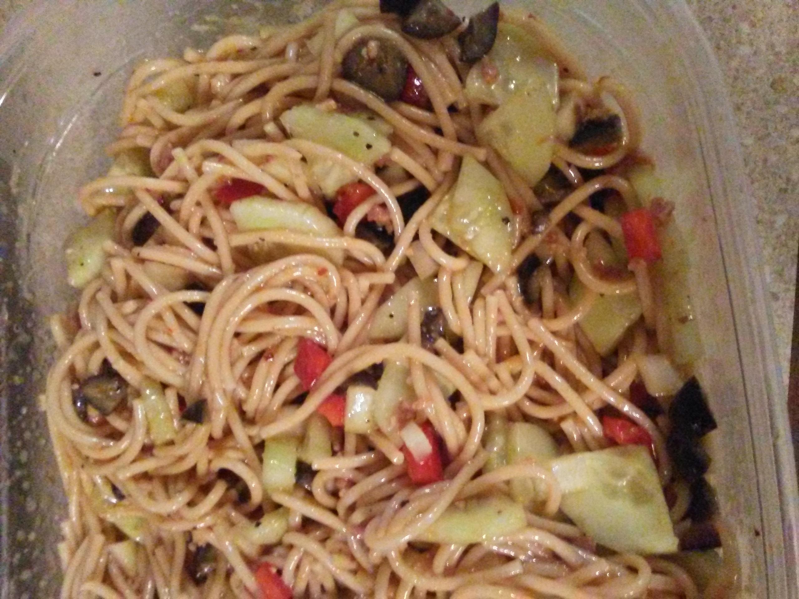 Light Spaghetti Salad D Mikel