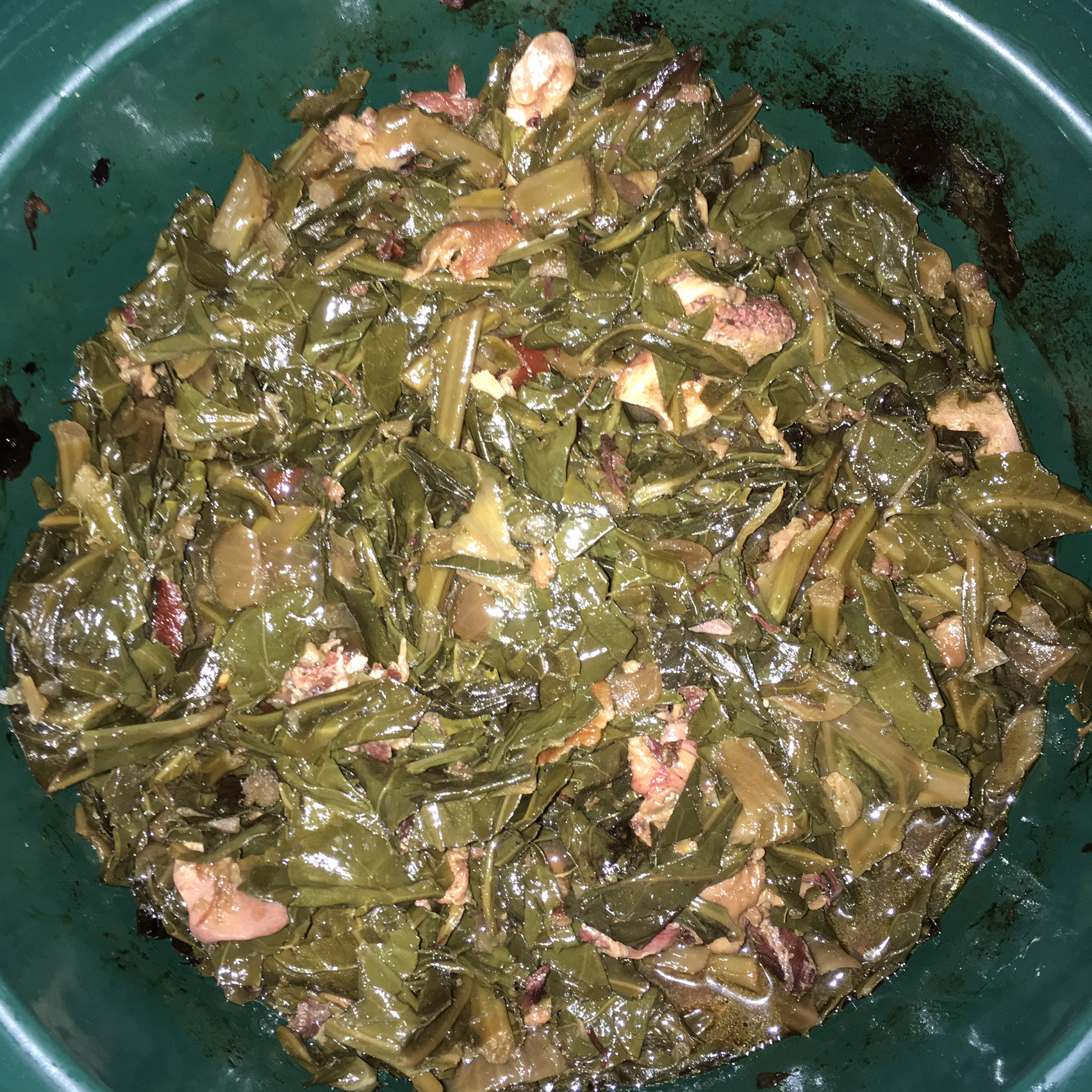 Slow Cooker Collard Greens Allen Liu
