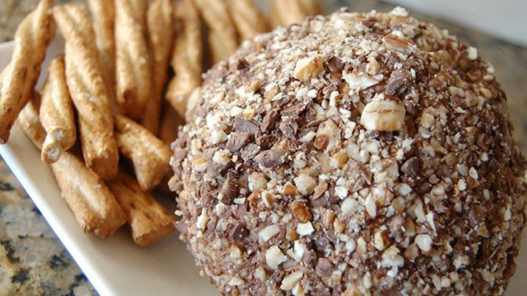 Chocolate Chip Cheese Ball Sarath Kumar
