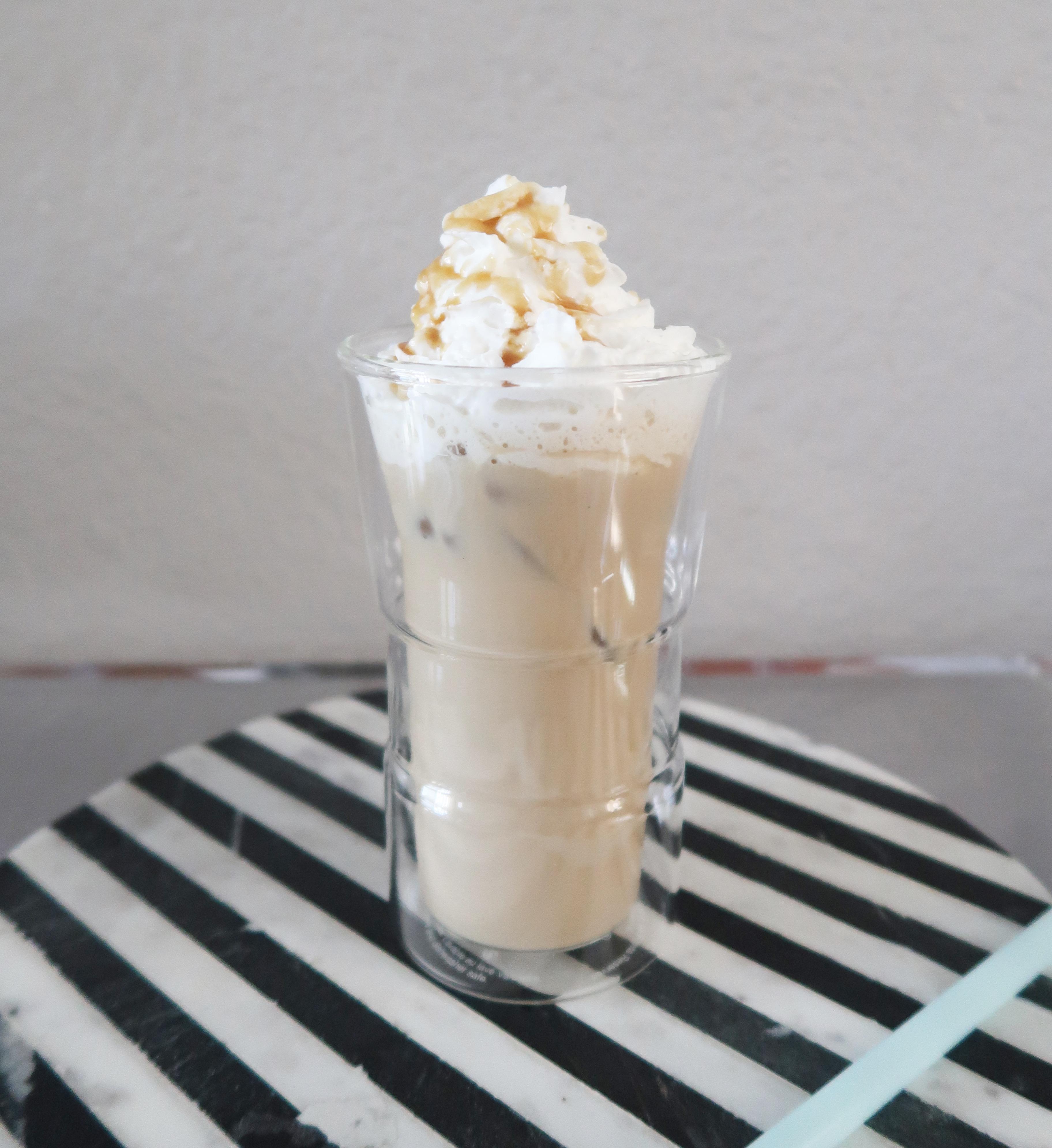 Caramel-Coconut Iced Coffee House of Aqua