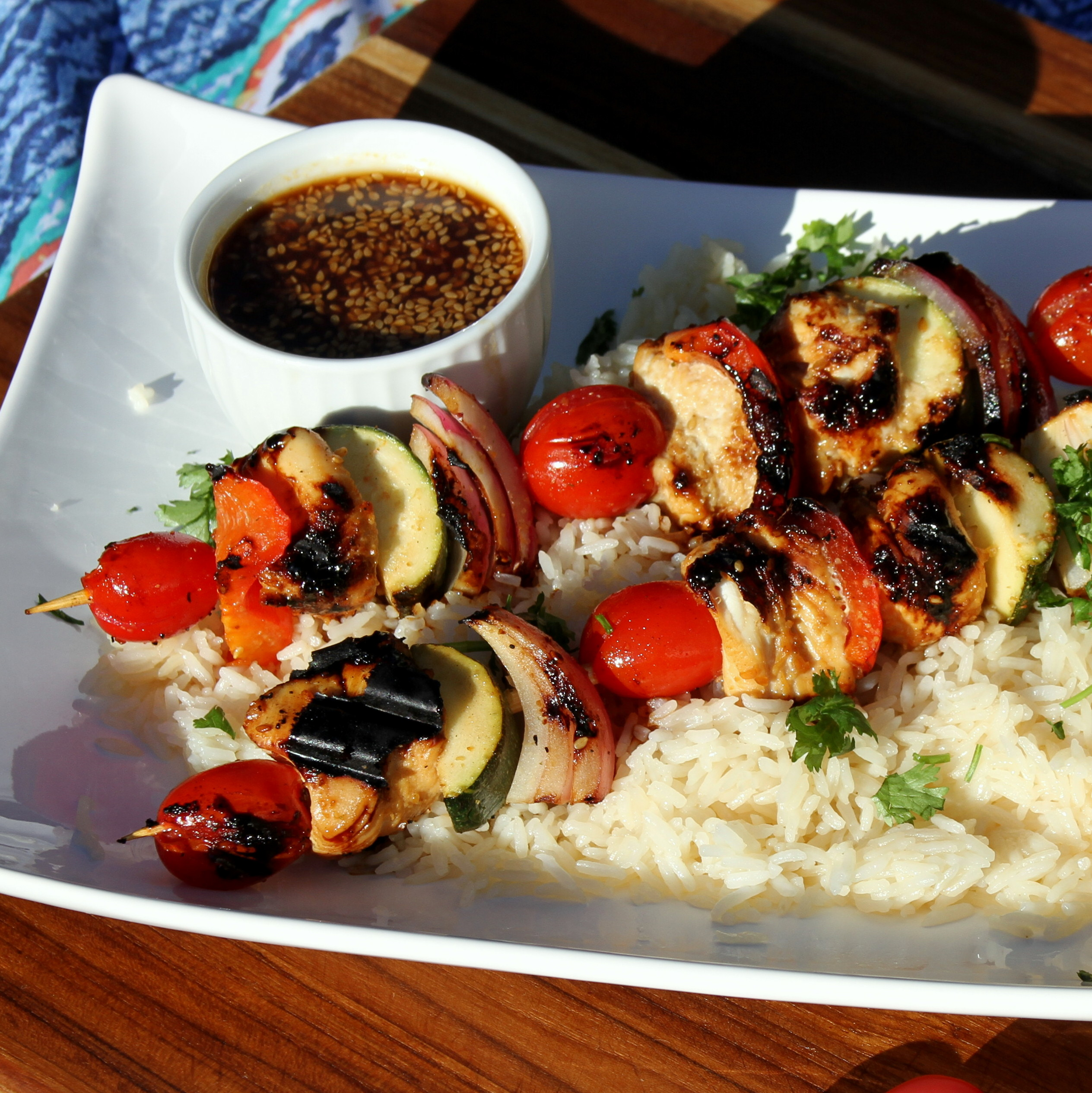 Grilled Chicken Kabobs Jennifer Aleman