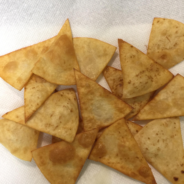 Fried Flour Tortilla Chips Kristi