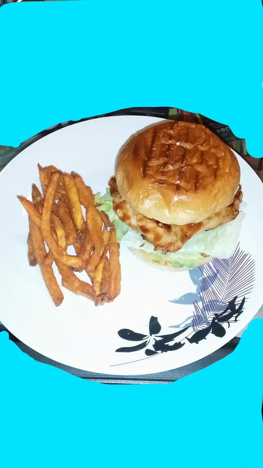 Aloha Chicken Burgers Hicksy