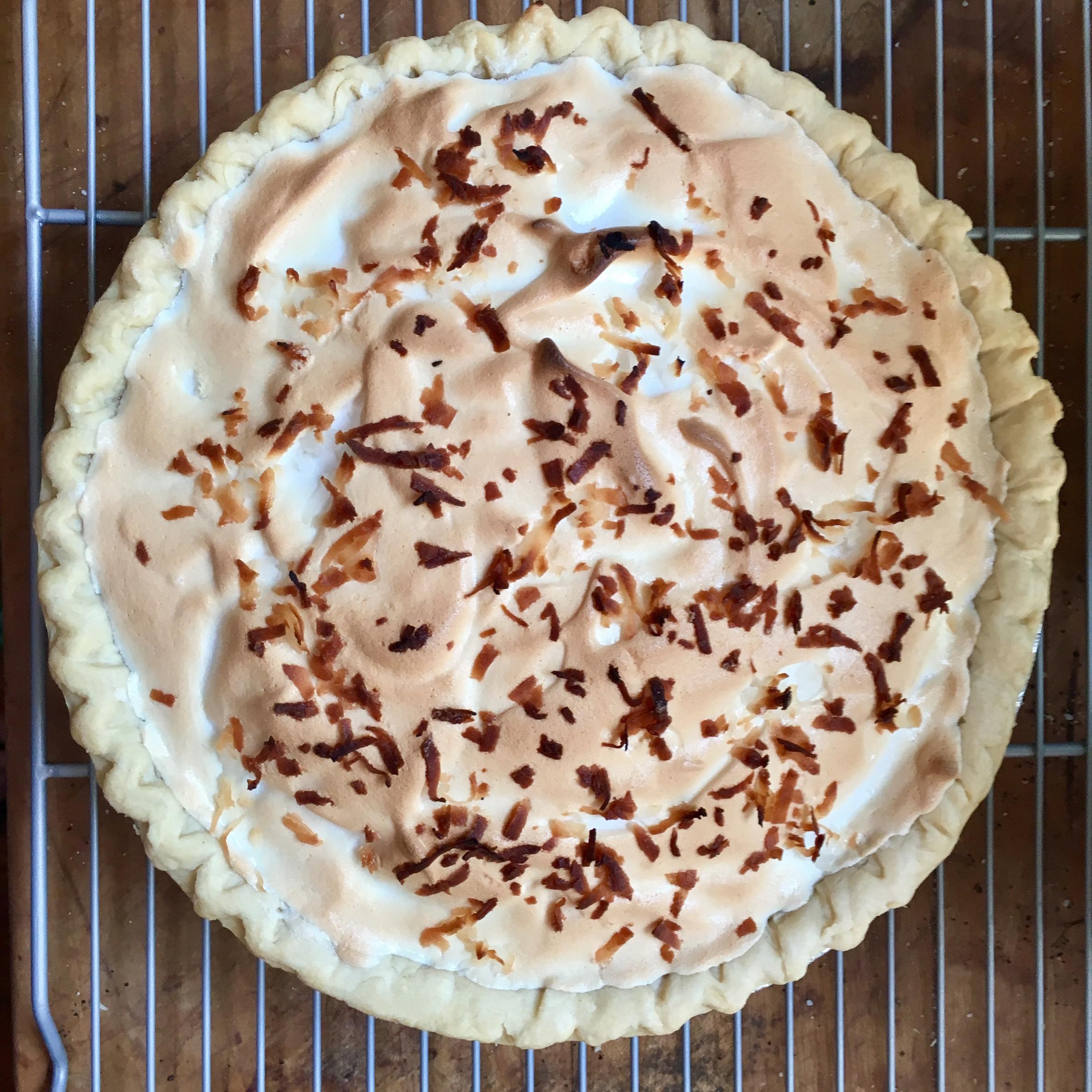Coconut Cream Pie VIII GuineaMama7