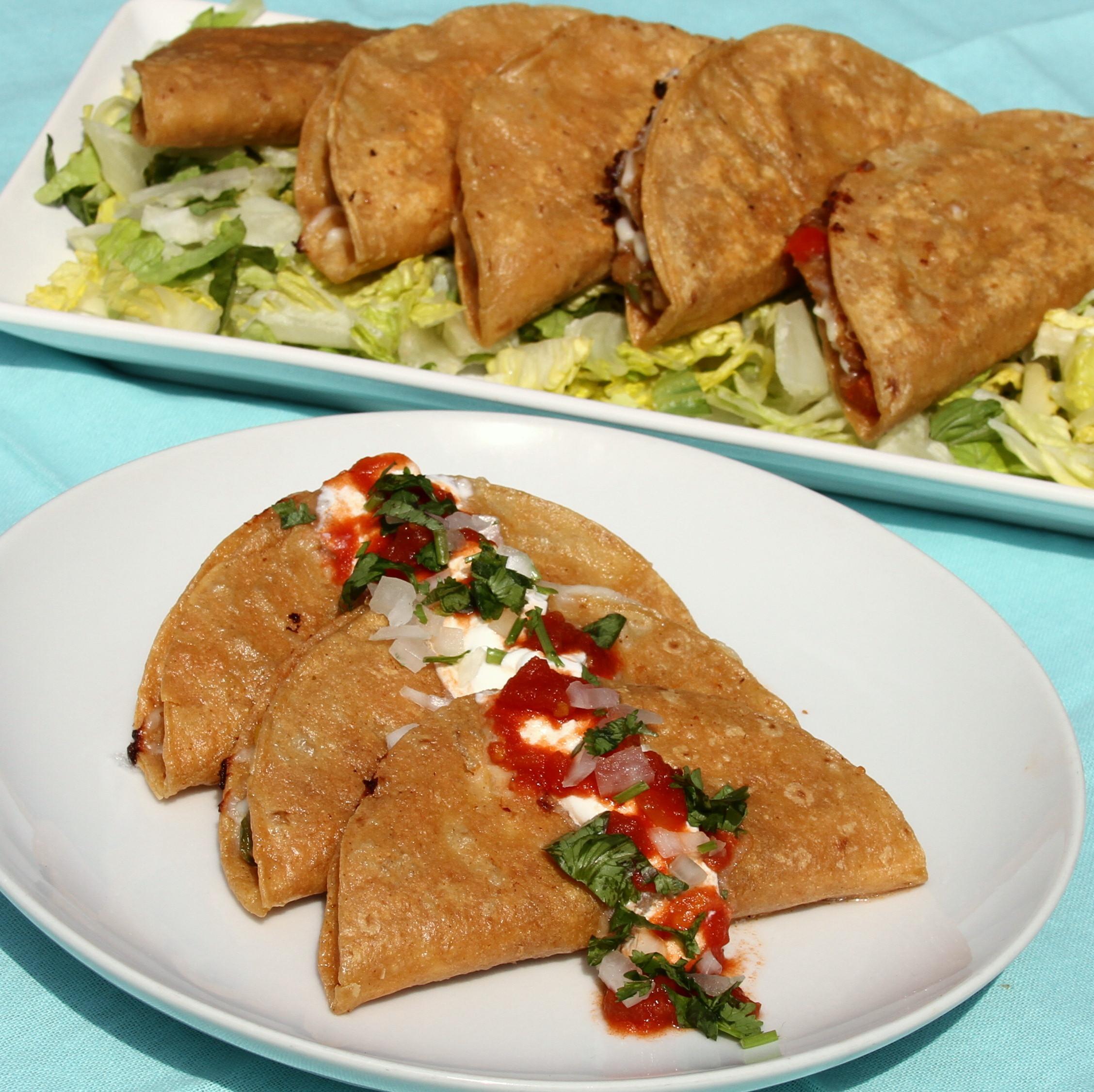 Street-Market Fried Quesadillas