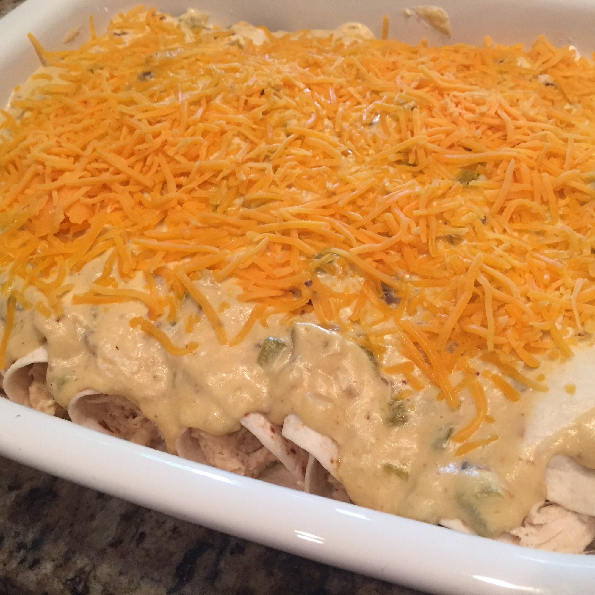 Chicken Enchiladas II
