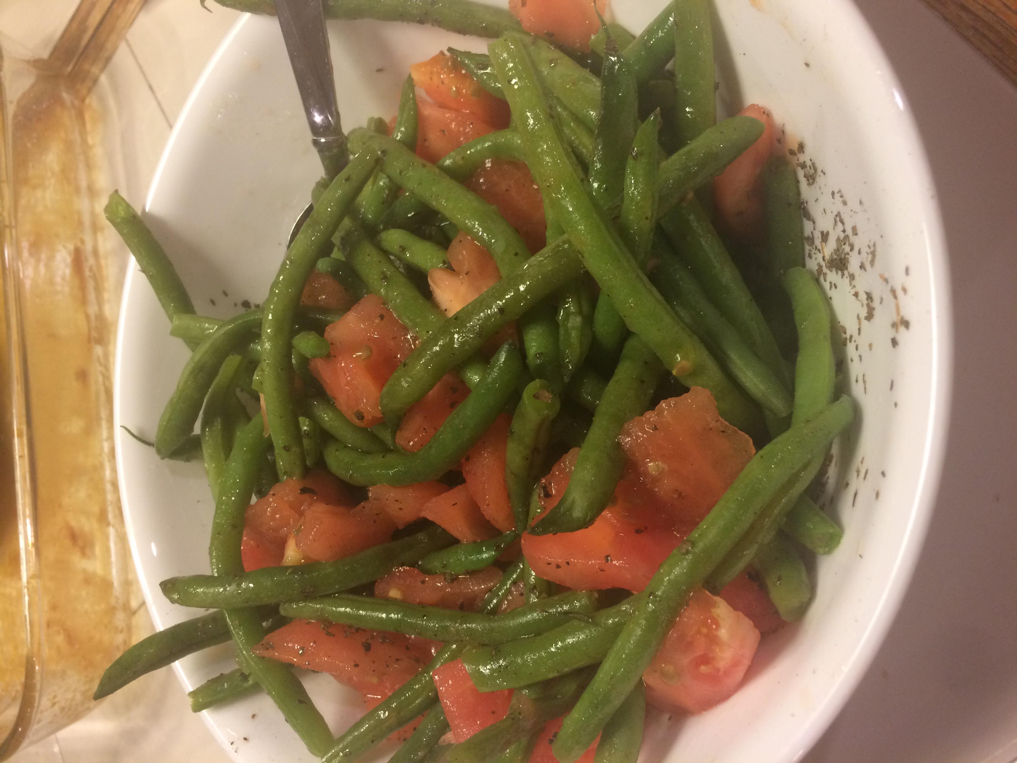 Green Bean Orzo Pasta LRitz